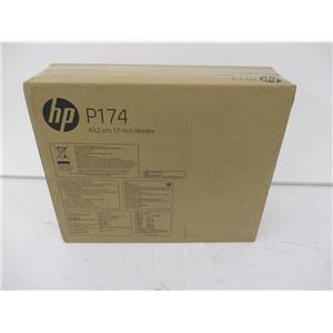 "HP 5RD64AA#ABA HP P174 17"" Monitor Tilt VGA 100mm VESA - FACTORY SEALED"