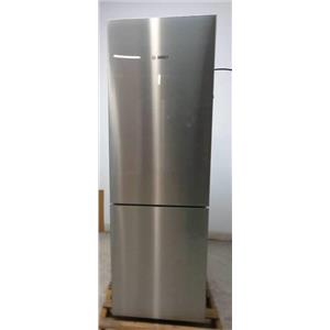 "Bosch 800 Series 24"" Stainless 10.0 cu.ft. Counter-Depth Refrigerator B10CB80NVS"