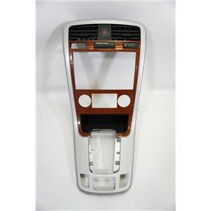 07 08 Chevrolet Equinox Radio Climate Dash Center Bezel Vents Wiper Switch
