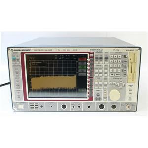Rohde & Schwarz FSEM30 20Hz - 26.5GHz Spectrum Analyzer 1079.8500.30 OPT B4 B5