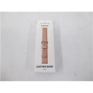 Samsung ET-SLR82MPEGUJ Leather Band for Galaxy Watch Active2 (Pink) 20mm