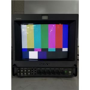 "SONY TRINITRON PVM-8042Q 8"" COLOR VIDEO MONITOR"