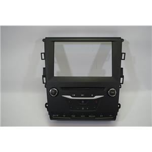 13-15 Ford Fusion Center Dash Radio Auto Climate Bezel with Radio Controls