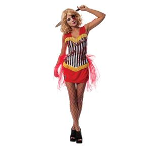 Knife Thrower Assistant Sexy Circus Women's Costume Small