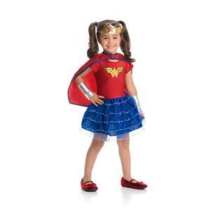 DC Wonder Woman Super Hero TuTu Girls Costume Large 12-14