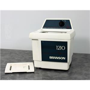 Used: Branson 1210 Ultrasonic Cleaner Bransonic 1210R-MT 1-Gal Tank w/ 90-Day Warranty