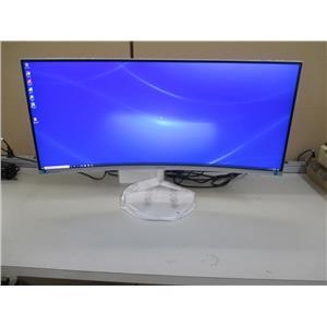 Samsung LC34J791WTNXZA 34-Inch CJ791 Ultrawide Curved Gaming Monitor - WHITE