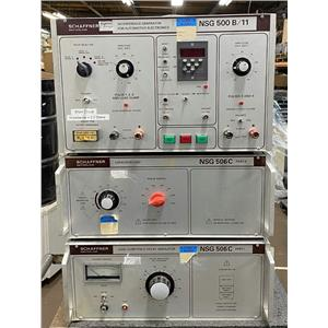 SCHAFFNER NSG Interference Test System with NSG 500 B, NSG 506C Part 1 & Part II