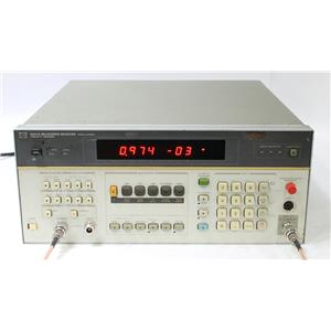 HP Agilent 8902A 150 kHz to 1.3 GHz Measuring Receiver with Options 30 32 37