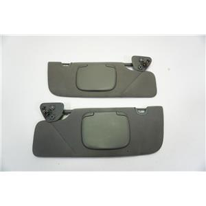 2005 2006 2007 2008 2009 Ford Mustang Coup Sun Visor Set with Covered Mirrors