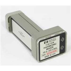 HP Agilent 11970K Waveguide Harmonic Mixer 18 - 26.5 GHz