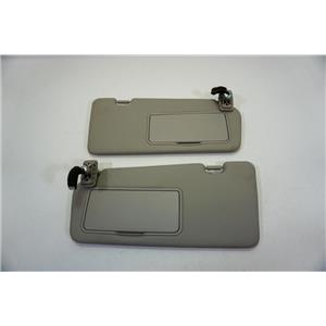 2006-2012 Kia Sedona Sun Visor Set with Covered Lighted Mirrors