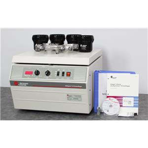 Beckman Coulter Allegra 6 Benchtop Centrifuge 366802 w/ GH-3.8 Rotor & Buckets