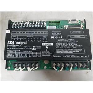 ASCO 5220 POWER MANAGER TRANSDUCERXP 5220T PN 629268 PLC