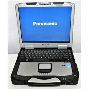 "13"" Panasonic ToughBook CF-30 Intel Core 2 Duo L9300 160SSD 4GB Touch MK3 0HRS"