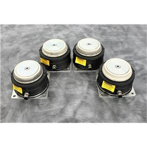 Lot of 4 Fabreeka PLM-3L Anti-Vibration Pads for Corning Epic Plate Reader