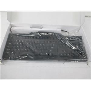 Cherry JK-A0100EU-2 POS Keyboard w/ HIGH PERFORMANCE PCSC/EMV SMART CARD READER