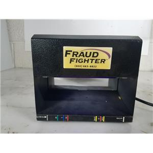 FRAUD FIGHTER HD8X2-120A COUNTERFEIT DETECTION SCANNER