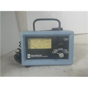 RPI RAD-MONITOR GM-2 RADIATION/ CONTAMINATION SURVEY METER