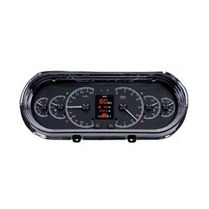 Dakota Digital HDX 62-65 Chevy II Nova Analog Gauges Black Alloy w/ Carrier