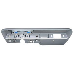 61-62 Chevy Impala VHX System, Silver Face - Blue Display