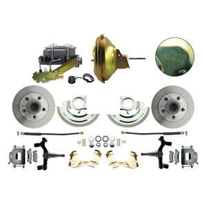"F/X Body Front Power Disc Brake 11"" Delco Standard Rotor Raw Caliper 2"" Drop"