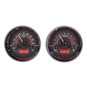 Dual Round Universal VHX System, Carbon Fiber Face - Red Display