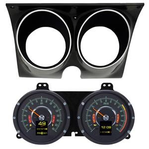 Dakota Digital Retrotech RTX 67 Camaro Gauges w/ Carrier