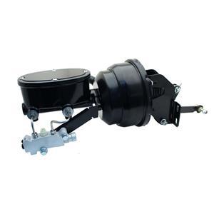 "Mopar A/B/E Black 8"" Dual Booster Master Prop Conversion Kit Disc / Drum MP-401"