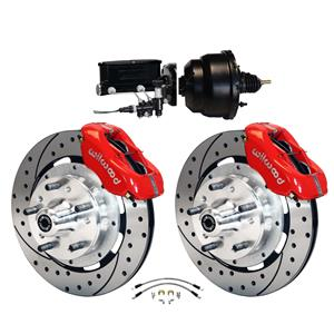 Wilwood 64-72 Chevelle A-Body Power Front Disc Big Brake Kit Drilled 12""