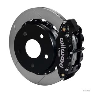 "Wilwood Rear Disc Big Brake Kit 12.88"" Ford Bronco w/ 2.36"" Offset Plain Black"
