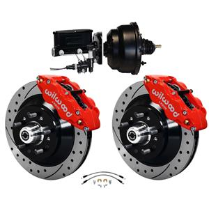 Wilwood 64-72 Chevelle A-Body Power Front Disc Big Brake Kit Drilled 13""