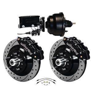 """Wilwood 64-72 Chevelle A-Body Power Front Disc Big Brake Kit Drilled 13"""""""