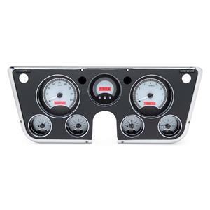 Dakota Digital 1967-73 Chevy Truck VHX System, Silver Face - Red Display