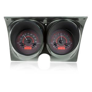 1967-68 Chevy Camaro/Firebird VHX System Carbon Fiber Style Face -