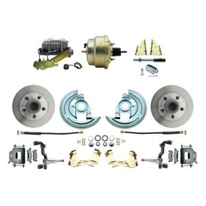 "F/X Body Front Power Disc Brake 8"" Standard Rotor Raw Caliper Stock Height"