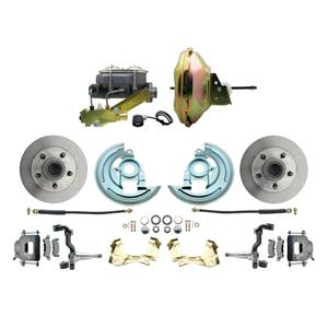"67-72 A-body Front Power Disc Brake 11"" Standard Rotor Raw Caliper Stock Height"
