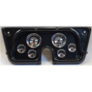 67-72 GM Truck Carbon Dash Carrier w/Auto Meter American Muscle Gauges
