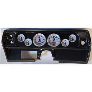 68 Nova Carbon Dash Carrier w/Auto Meter C2 Gauges