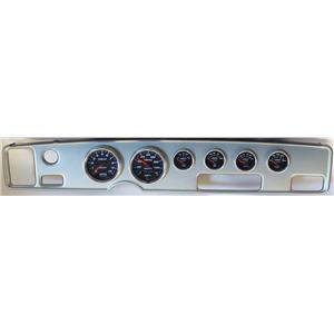 70-81 Firebird Silver Dash Carrier w/Auto Meter Cobalt Gauges