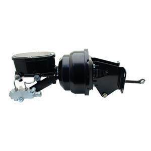 "74-86 Jeep CJ 8"" Dual Black Booster Master Prop Conversion Kit Disc /Disc CJ-412"
