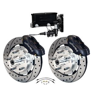 Wilwood 64-72 Chevelle A-Body Manual Front Disc Big Brake Kit Drilled 12""