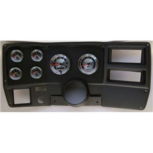73-83 GM Truck Black Dash Carrier w/Auto Meter American Muscle Gauges