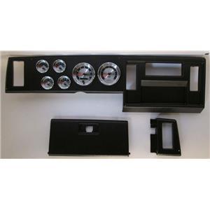 82-86 S10 Pickup Black Dash Carrier w/ Auto Meter American Mucle Gauges