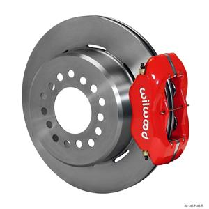 "Wilwood 93-97 Camaro 10/12 Bolt Rear Disc Brake Kit  12.19"" Plain Red Caliper"