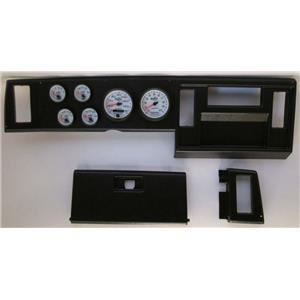 82-86 S10 Pickup Black Dash Carrier w/ Auto Meter Phantom II Gauges