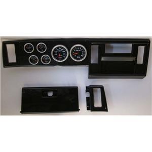 82-86 S10 Pickup Carbon Dash Carrier w/Auto Meter Sport Comp II Gauges