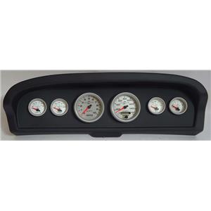 61-66 Ford Truck Black Dash Carrier w/Auto Meter Ultra Lite II Gauges