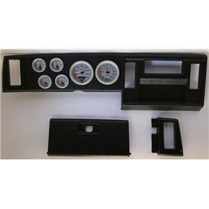 82-86 S10 Pickup Black Dash Carrier w/ Auto Meter Ultra Lite II Gauges