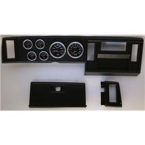 82-86 S10 Pickup Black Dash Carrier w/ Auto Meter Cobalt Gauges
